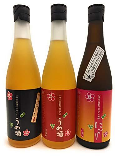 八海山 原酒で仕込んだ梅酒720ml & 焼酎で仕込んだ梅酒720ml & 焼酎で仕込んだ梅酒 にごり720ml 3本セット