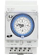 Relé temporizador, interruptor de tiempo de resistencia a altas temperaturas de estructura simple, tamaño compacto para la industria de control industrial, electrodomésticos, farola