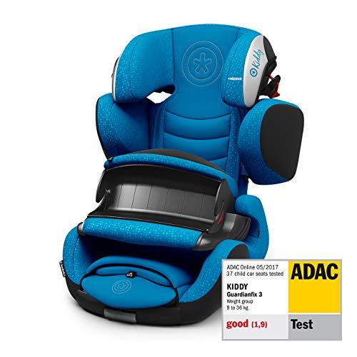 Kiddy Guardianfix 3 Siège auto pour enfant (groupe 1/2/3) (de 9 mois à 12 ans) (env. 9 kg à 36 kg) avec Isofix Collection 2019 Bleu ciel