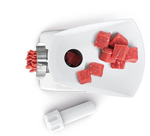 Bosch MFW3520W Tritacarne, 500 W, 0 Decibel, 5 velocità, Bianco, s