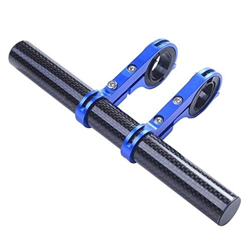 20 centimetri 10 centimetri di riciclaggio del manubrio della bici della torcia elettrica supporto della maniglia Bar in fibra di carbonio della bicicletta Extender staffa di montaggio Bike Accessorie