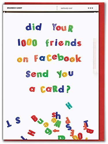 Facebook Friends Verjaardagskaart