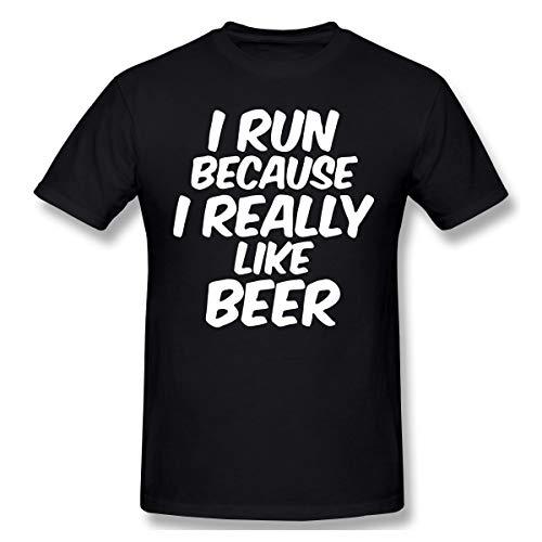 Darren K Lemay Ich laufe, Weil ich Bier wirklich mag