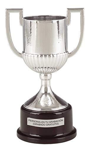 Trofeos Número Uno Trofeo Replica Copa del Rey 17,5 cm Grabado trofeos Personalizados Trofeos Deportivos