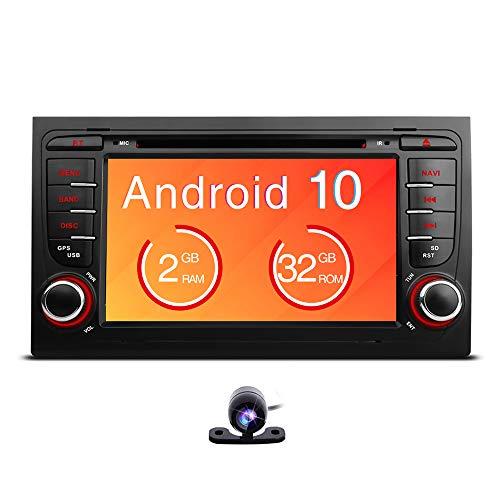 Freeauto Para Audi A4 / S4 / RS4 / Seat Exeo 7 pulgadas Android 10.0 coche GPS Radio Navegación con función de espejo de pantalla y OBD2