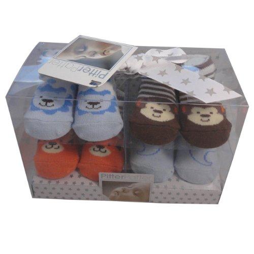 Chaussettes de luxe pour bébé 0-12 mois