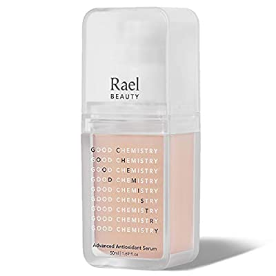 Rael Advanced Antioxidant Facial Serum - Hyaluronic Acid Serum with Healing Green Tea Leaf Extract, Daily Moisture and Powerful Antioxidant, Non-greasy, Clean Vegan Natural Skincare (1.69oz, 50ml)