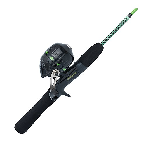 Shakespeare UGLYJRGCBO Ugly Stik Jr. Fishing Rod and Spincast Reel Combo, Green, 3 Feet 8 Inches, Ultra Light Power