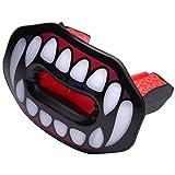 Oral Mart Vampire Fangs Football Lip Guard - Lip Guard Mouthpiece | Lip Protector Mouthguard (Detachable Strap Included)
