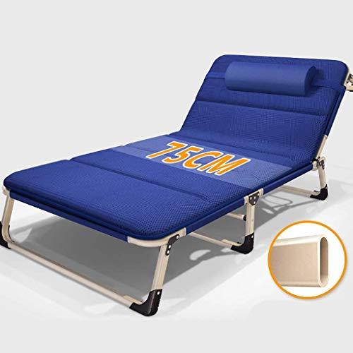 AAZX Sonnenliege Solarium Campingbett Bett Bett tragbare Camping 300kg Gewicht Falten können unterstützt Werden, und zu Hause und Urlaubsreisen,B