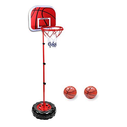 Taeku Canasta de baloncesto para niños, ajustable, canasta de baloncesto con soporte de altura ajustable, canasta de baloncesto, juego de canasta de baloncesto para interior y exterior (200 cm)