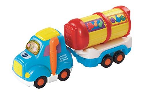 VTech - Vehículo de Juguete Antón, camión Cisterna, Tut Tut Bólidos (3480-164522)