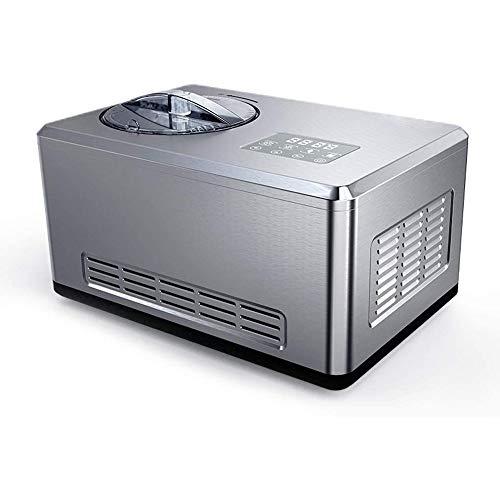 HIZLJJ Portable del fabricante de hielo encimera en forma de hielo Diseño Tamaño Inicio rápido y automático de helado de máquina de helado de máquina de refrigeración Pequeño Con Popsicle Yogur Máquin