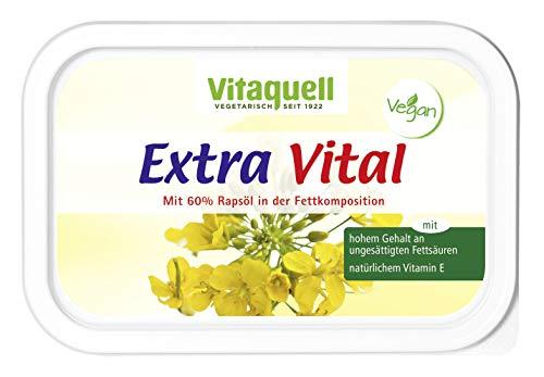 Vitaquell Extra Vital Pflanzen-Margarine mit 60 % Rapsöl und reich an Vitamin E