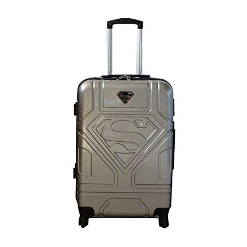 Karactermania Superman S Maleta, 67 cm, 70 litros, Gris