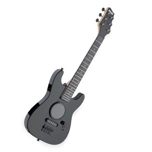 Stagg GAMP200-BK Junior Electric Gitar met ingebouwde versterker zwart
