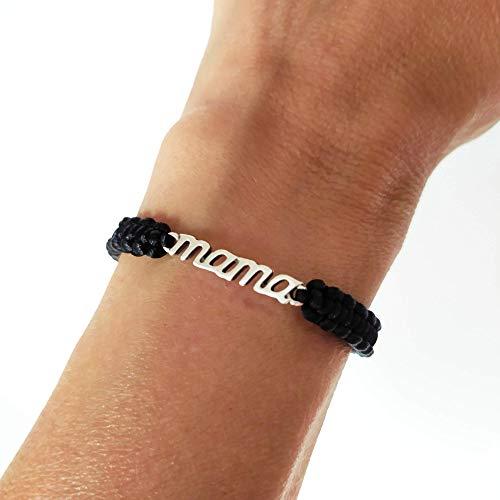 Pulsera mama, regalo para mama, regalo día de la madre, pulsera abuela, pulsera ajustable mujer