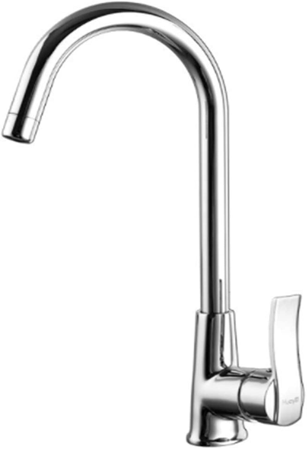 Kitchen Taps Faucet Modern Kitchen Sink Taps Stainless Steelfine Copper Faucet, Single Kitchen Hot Water Faucet.