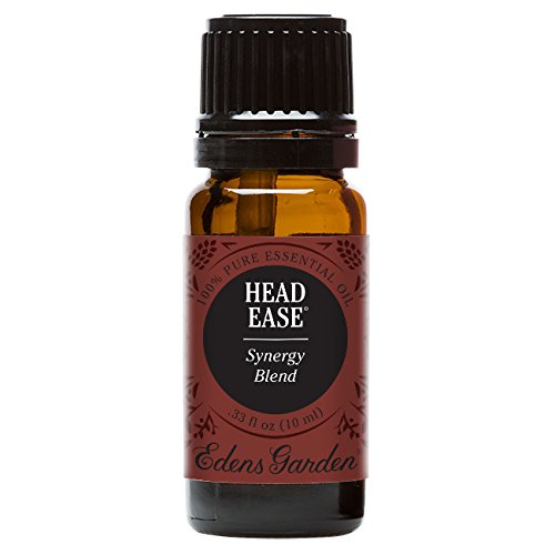 Edens Garden Head Ease Essential Oil Synergy Blend, 100% Pure Therapeutic Grade (Headache & Massage) 10 ml