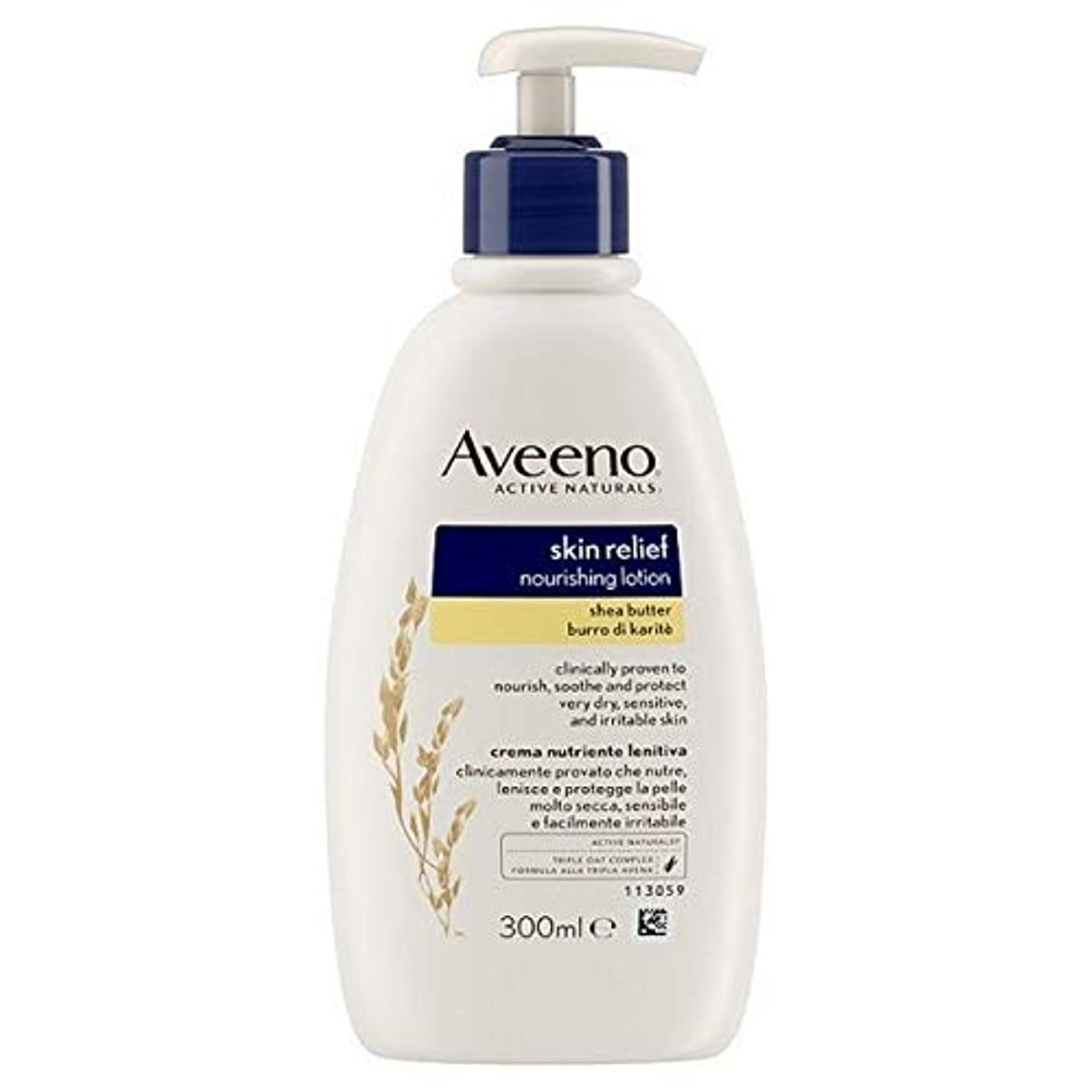 時々ガレージ浮浪者[Aveeno] Aveenoスキンリリーフローション300ミリリットル - Aveeno Skin Relief Lotion 300ml [並行輸入品]