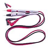 Persdico Línea de cables de prueba Cable de prueba de punta fina Punta fina 1000V 10A Aguja de cobre chapada en oro Cable de prueba Multímetro Cable de prueba