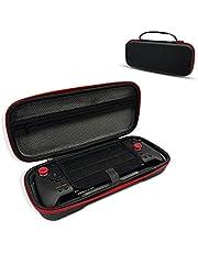 グリップコントローラー ケース、収納ケース ホリ グリップコントローラー専用 ハードケース、ゲーム10枚収納 耐衝撃 撥水表面 HORI 携帯モード キャリングケース 持ち手付き