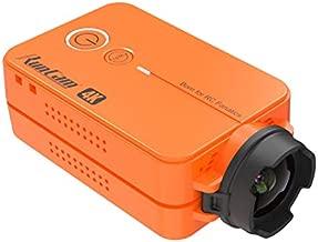 RunCam 2 4K Edition FPV Sports Action Camera 49g WiFi Supported Ultra HD MP4 Camcorder Adjustable FOV, Orange
