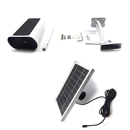 Cámara solar 4G de baja potencia de vigilancia de seguridad para interiores y exteriores, cámara de red inteligente remota Q3