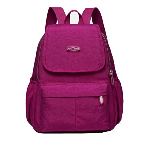 AOTIAN Small Lightweight Nylon Casual Travel Hiking Daypack Backpack for Girls and Women - 9 Liters