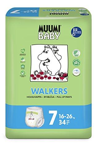 Muumi Baby Premium Öko Windelhöschen - Größe 7, 16-26kg, 34 Stück