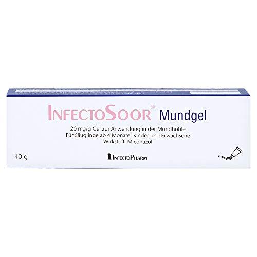 InfectoSoor Mundgel bei Hefepilzinfektionen der Mundschleimhaut, 40 g Gel