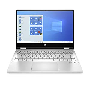 "HP – PC Pavilion X360 14-dw0004nl Notebook Convertibile, Intel Core i5-1035G1, RAM 8 GB, SSD 256 GB, Grafica Intel UHD, Windows 10 Home, Schermo 14"" FHD, Lettore Impronte Digitali, USB-C, Argento"