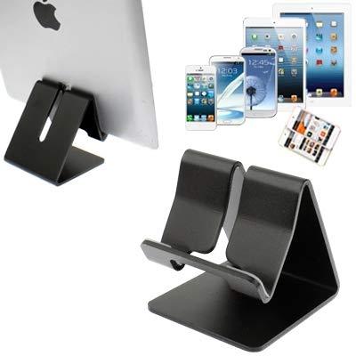 Soportes para moviles Teléfono Soportes y bases, soporte de aluminio for iPad / iPhone / Samsung Galaxy Tab 2 (10.1) / P5100 / Galaxy Tab 2 (7.0) / P3100 Galaxy Tab / 7.0 Plus / P6200 / Todos los Tabl