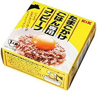 K&K たまごかけごはん専用コンビーフ 80g(12缶入×1ケース)