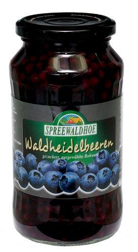 シュプレーヴァルトフ ワイルドブルーベリー シロップ漬け540g(固形量205g)