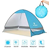 Best Beach Shelters - Winkeyes PopUp BeachTent Sun,ShelterTent Lightweight Sun TentCabana Tent Review