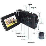Cámara Video Cámara Videocámara 16X Zoom Digital Videocámara con 3.0'Cámara de Control Remoto LCD (Z16)
