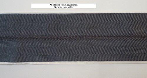Ruther & Einenkel Teppicheinfassband selbstklebend, Breite 50 mm/Aufmachung 5 m (Graphit)