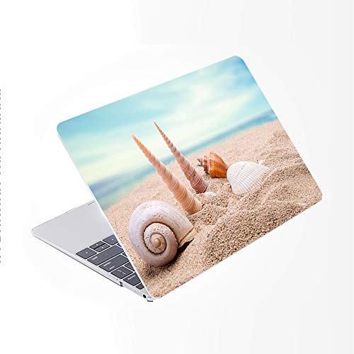 SDH for MacBook Pro 15 inch Case with CD-ROM 2010-2012 Released, Plastic Pattern Cover Hard Protective Shell & Keyboard Cover Only Compatible for Mac Pro 15 inch Model A1286, Beach Scenery 10