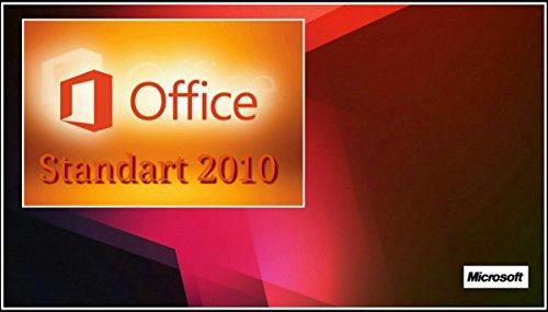MS Microsoft Office 2010 STANDARD für 1PC Original 32/64-Bit