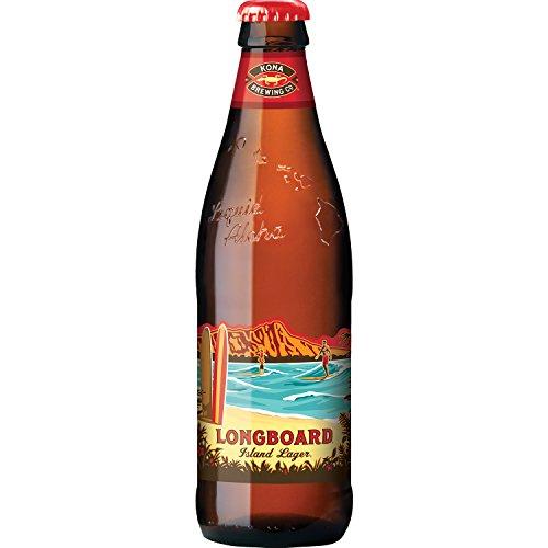 6 Flaschen Kona Bier Longboard a 0,355l aus Hawaii Island Pale Ale inc. 1.50€ EINWEG Pfand