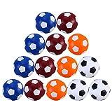 TOYANDONA 16 Piezas de 36Mm Bolas de Mesa Balones de Plástico para Mesa de Repuesto Pelotas de Fútbol para Mesa Juego de Mesa Futbolín Accesorios de Repuesto