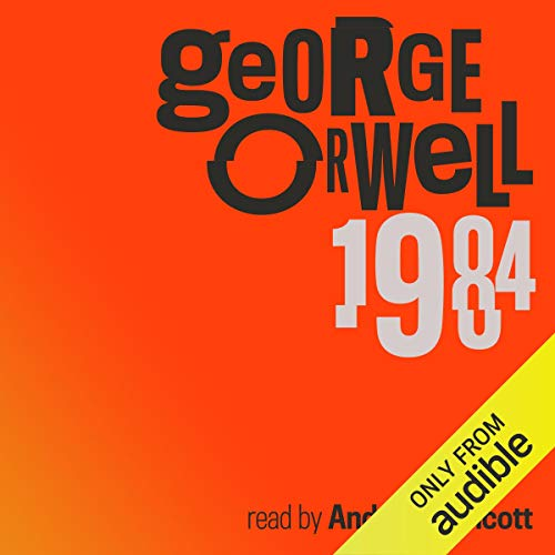 1984 audiobook cover art