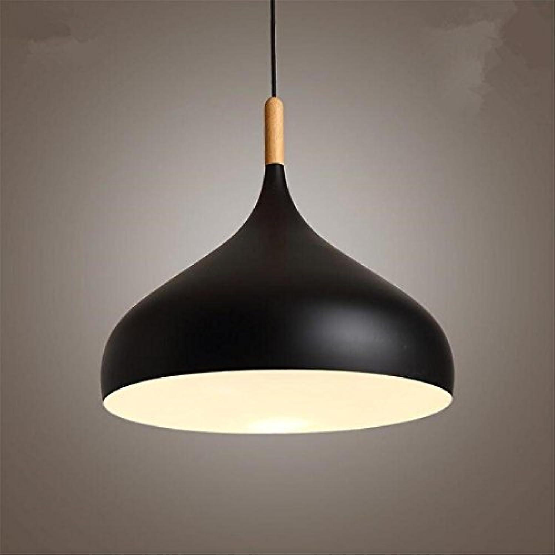 DIAOGUANG E27 Kreative PersNlichkeit Einfache Aluminium Kronleuchter Studie Café Beleuchtung (Durchmesser  32cm)