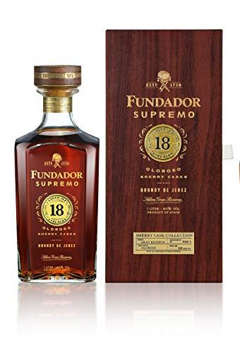Brandy Fundador Supremo 18 Años - 1000 ml