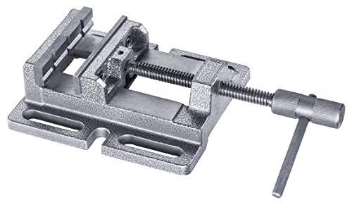 kwb by Einhell Schraubstock 80 mm Stationär-Zubehör (Schraubstock 80 mm Backenbreite, 0-65 mm Klemmweite, passend für alle Einhell Säulenbohrmaschinen)
