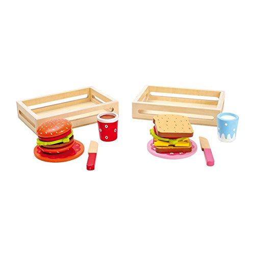 Legler Small Foot Company (Smb5V) - 5852 - Jeu D'Imitation - Cuisine - Hamburger Et Sandwich