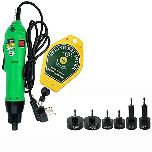 isunking Máquina Tapadora de Botellas Eléctrica Portátil AC 220V, Máquina de Roscado de Tapas de Botellas de Mano, Sellador de Tapas 900RPM 80W