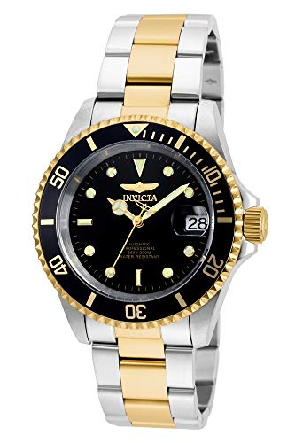 Invicta Men's Pro Diver 40mm Steel and Gold...