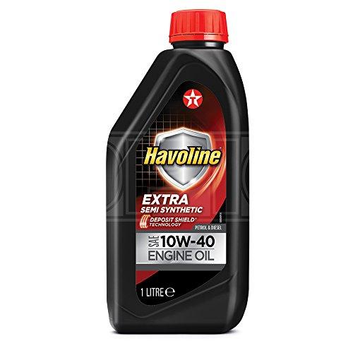 Texaco Havoline Extra 10W-40 - Aceite semi sintético para motor (1 L)